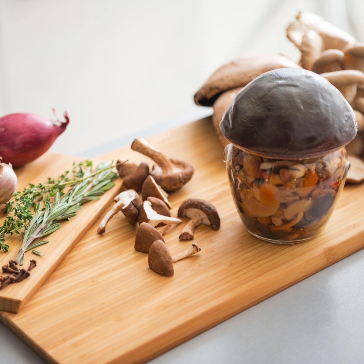 Einmachen pilze Pilze einkochen