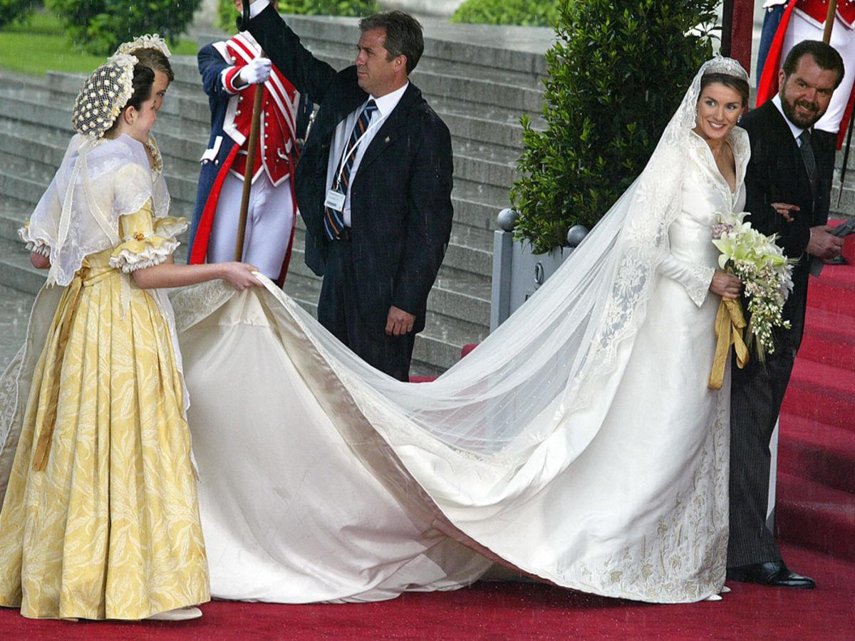 Brautkleid letizia spanien Letizia von
