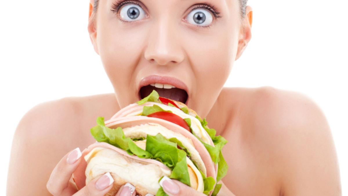 Fette frau füttern