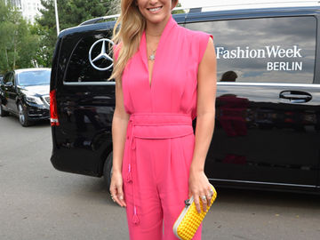 Bar Refaeli bei der Fashion Week Berlin 2014