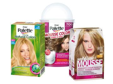 Blond haarfarben palette braun 50 Wunderschöne