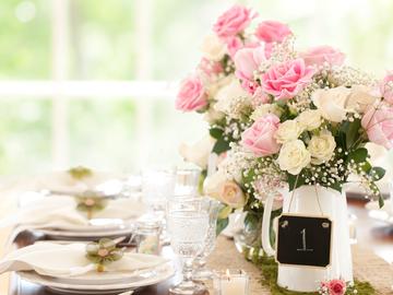 Hochzeitstischdeko - Tipps und Ideen
