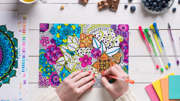 Adult Coloring Blocks