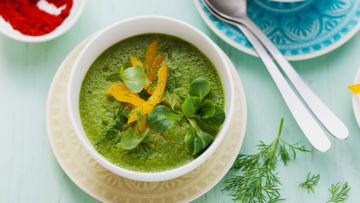 Grüne Smoothie Suppe